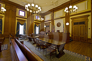 ohio trial lawyers courtroom