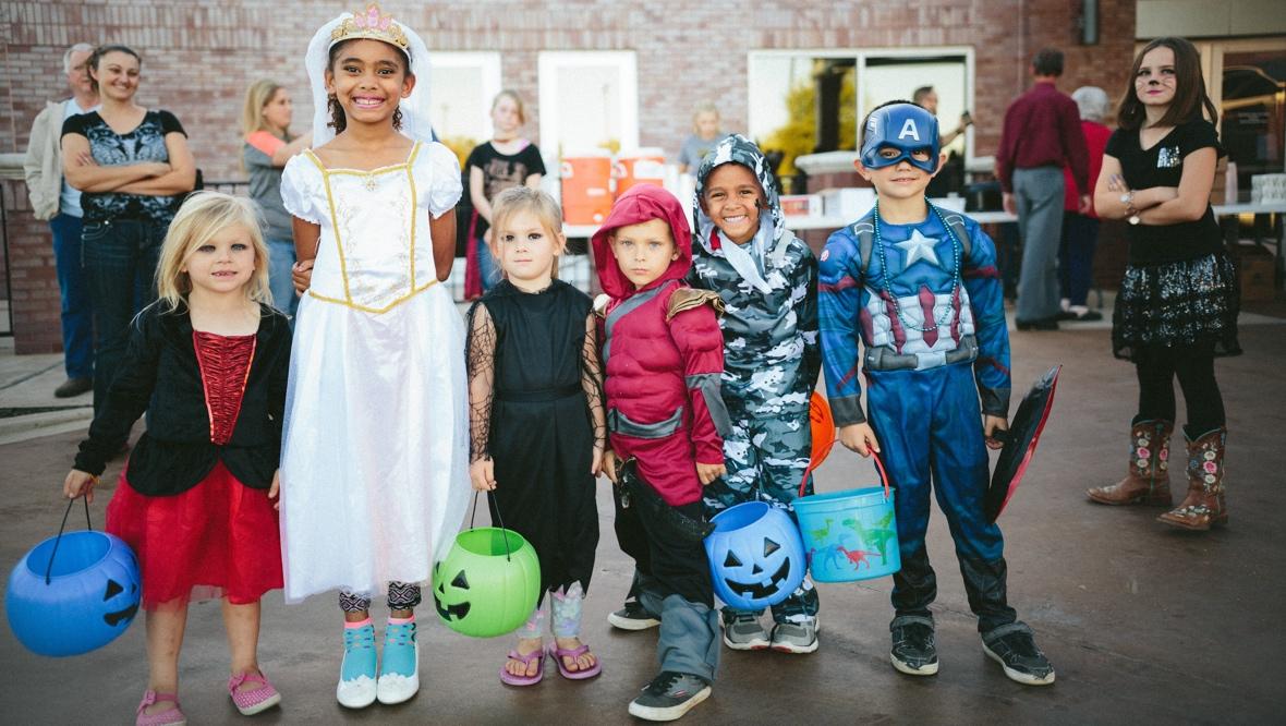 Halloween in Hamilton Ohio